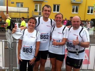 Teilnehmer Halmarathon-Blansko
